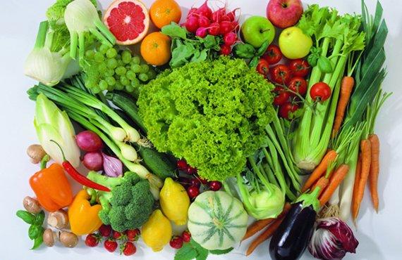 las frutas y vegetales más saludables que existen