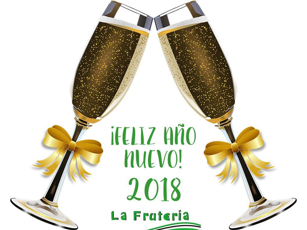 lafruteria os desea feliz año nuevo 2018