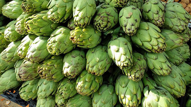 alcachofa-temporada febrero verdura online